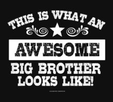 This is What An Awesome Big Brother Looks Like by Albany Retro
