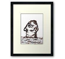 Lone Head Framed Print