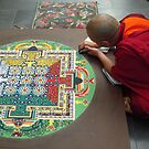 Monk and Mandala by Tama Blough