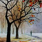 Winter Silence — Buy Now Link - www.etsy.com/listing/127630769 by Leonid  Afremov