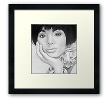 African Queen - Pencil Framed Print