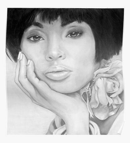 African Queen - Pencil Poster