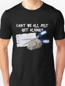 Can't We All Just Get Along? T-Shirt