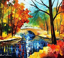 Autumn Calm 2 — Buy Now Link - www.etsy.com/listing/228347413 by Leonid  Afremov