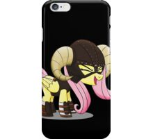 Fluttershy is the D'awwvahkiin (My Little Pony: Friendship is Magic) iPhone Case/Skin