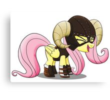 Fluttershy is the D'awwvahkiin (My Little Pony: Friendship is Magic) Canvas Print