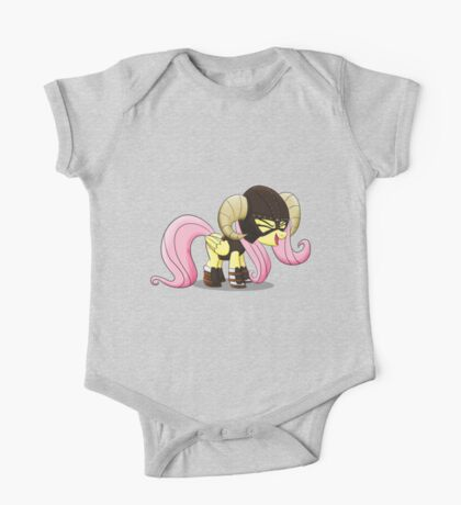 Fluttershy is the D'awwvahkiin (My Little Pony: Friendship is Magic) One Piece - Short Sleeve