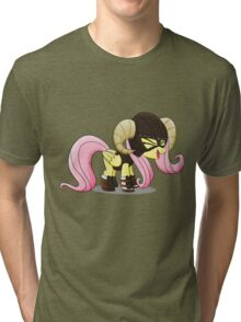 Fluttershy is the D'awwvahkiin (My Little Pony: Friendship is Magic) Tri-blend T-Shirt