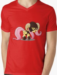 Fluttershy is the D'awwvahkiin (My Little Pony: Friendship is Magic) Mens V-Neck T-Shirt