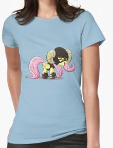 Fluttershy is the D'awwvahkiin (My Little Pony: Friendship is Magic) Womens Fitted T-Shirt