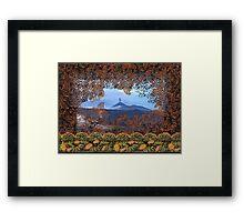 Bromo Batik, Java Volcano, Indonesia Framed Print