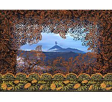 Bromo Batik, Java Volcano, Indonesia Photographic Print