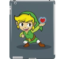 Toon Link: a Heart Container iPad Case/Skin