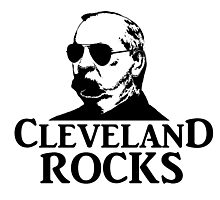 Cleveland Rocks! Photographic Print