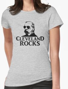 Cleveland Rocks! Womens Fitted T-Shirt