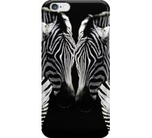 Zebra Twins iPhone Case/Skin