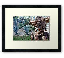 Kila Tequila Framed Print