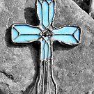 Blue Cross by rosaliemcm