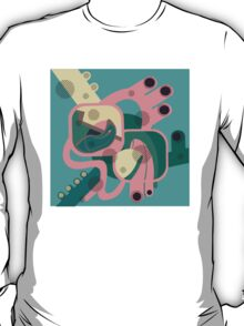 Abstract colourfest tee T-Shirt