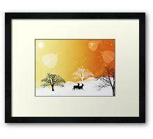 Nature sauvage Framed Print