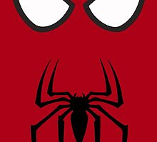 Spiderman Eyes And Logo by AvatarSkyBison