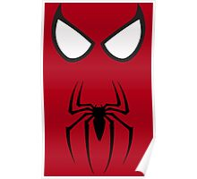 Spiderman Eyes And Logo Poster