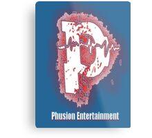 Phusion Wear - Captain America Metal Print