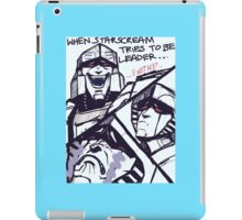 Megatron/Starscream funny print iPad Case/Skin