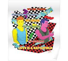 Love is a battlefield  Poster