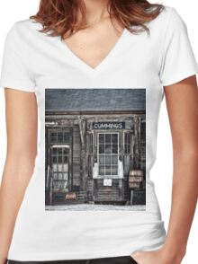 One Man's Treasures Women's Fitted V-Neck T-Shirt