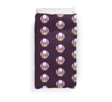 Galactic Shroom Duvet Cover