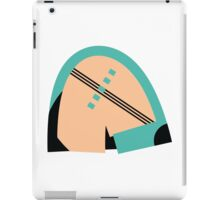 Abstract muted '80s 08 iPad Case/Skin
