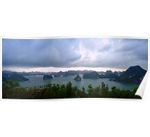 Halong Bay Vietnam - Panoramic Poster