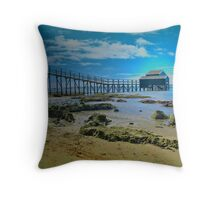 Shelly Beach, Portsea, Victoria Throw Pillow