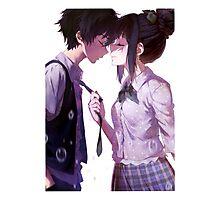 Anime Couple Photographic Print