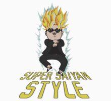 Super Saiyan Style by Phosphorus Golden Design