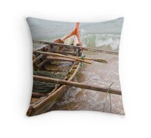 Let's go fishing! Throw Pillow