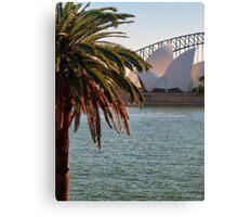Sydney Harbour Bridge & Opera House Canvas Print