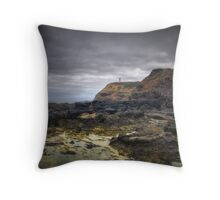 Cape Schanck Rockpools & Lighthouse, Victoria Throw Pillow