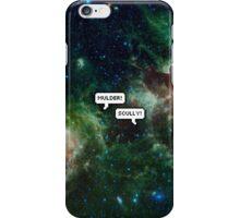 mulder! scully! iPhone Case/Skin