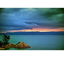 Great Oyster Bay Sunset, Tasmania Photographic Print
