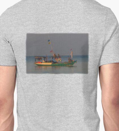 Honey Tara's Fishing Boat Unisex T-Shirt