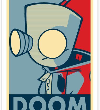 DOOOOOM - Gir Sticker