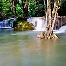 Krengkavia waterfall 2, Thailand by Naomi Brooks