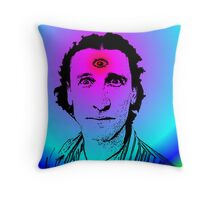 David Collins (The Umbilical Brothers 2) Throw Pillow