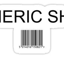 Generic shirt Sticker