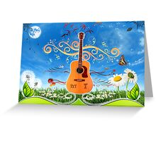 musique Greeting Card