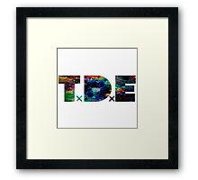 TDE LSD Acid Framed Print