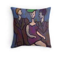 The Dancing Queen Throw Pillow