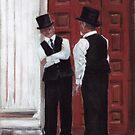 Doormen by conniecrayon